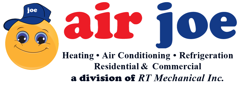 Air Joe Heating, Air Conditioning & Refrigeration Logo