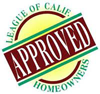The League of California Homeowners logo