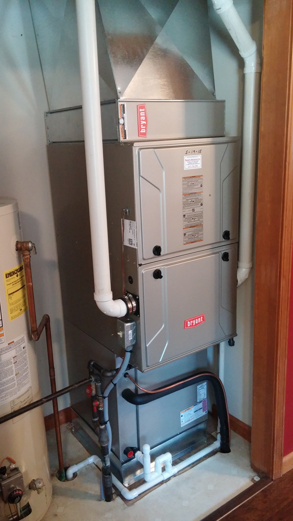 New Efficient Furnace Installation