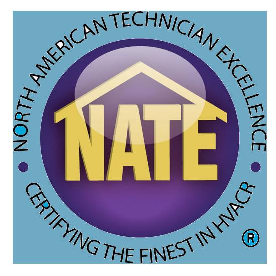 NATE certified dealer