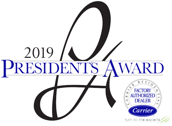 2019 Carrier President's Award logo