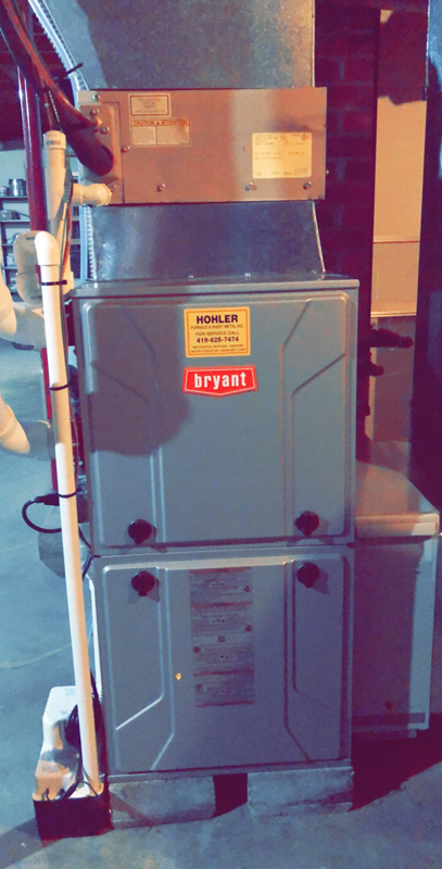 Bryant High Efficiency Furnace - Bellevue, OH