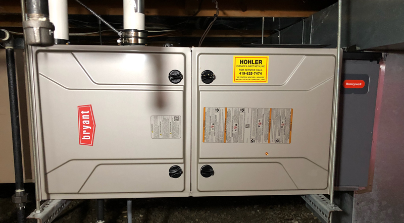 Bryant High Efficiency Furnace - Monroeville, OH