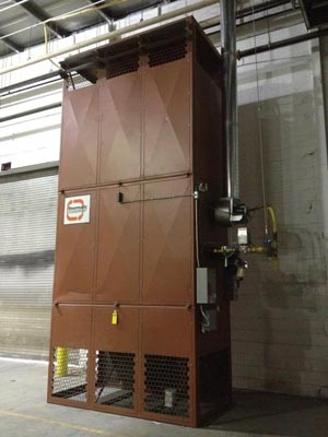 Commercial Gas Fired reheater