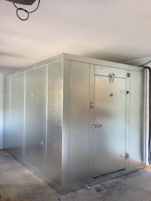 Commercial Refrigeration Walk In Freezer Installation