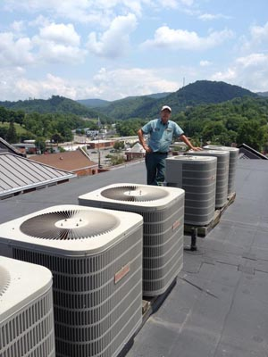 Commercial Rooftop Service