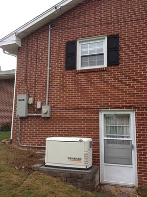 Residential Power Generator Installation