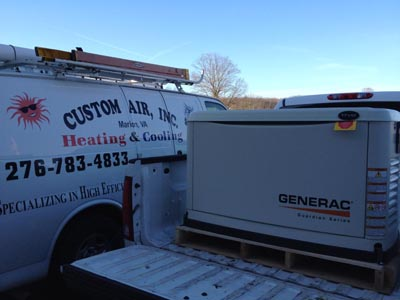 Standby Power Generator Installation