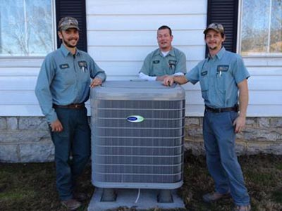 Installation of a 16 seer 2-stage Infinity series heat pump