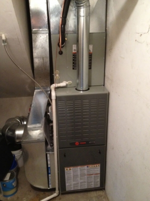 Furnace and air conditioning install in Bartlett IL