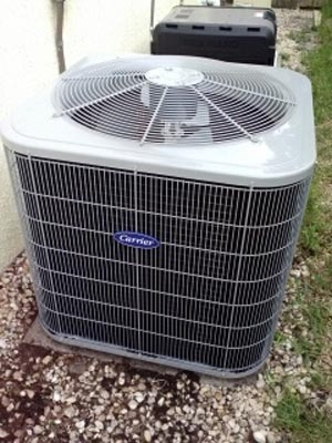 Carrier 13 SEER Residential Air Conditioner Installation