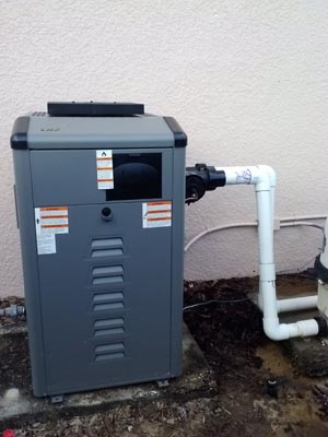Jandy LRZ 250 Gas Heater Installation
