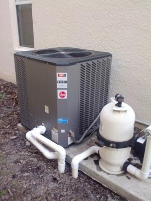 Rheem 115000 BTU Heat Pump Heater