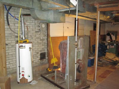 Before furnace installation