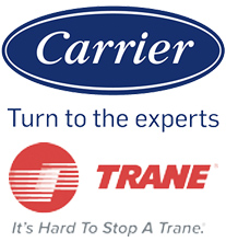 Carrier and Trane Logos