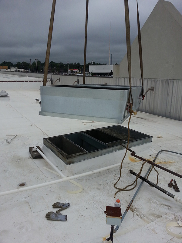 Commercial Rooftop HVAC Replacement
