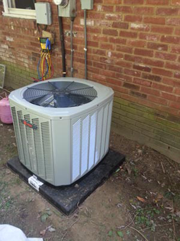 Hattier Collierville 8 SEER to 13 SEER Trane 3.5 ton Air Conditioning condenser replacement