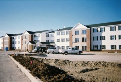 Simpson Heating and Cooling is so proud to be the heating and cooling contractor for the Meridian Greene Project located in Wintersville Ohio. This three story (54) unit apartment building also has sixteen single story ('four' 4-plexes) facing it from across the parking lot. This project was completed early 2006. Simpson Heating and Cooling was the first mechanical contractor to complete their work and it all past State and Local inspections.