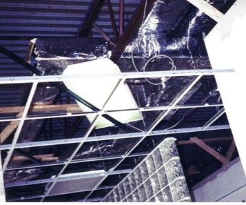 This picture shows a very small amount of a very complex system Simpson Heating and Cooling installed at the Alliance Imaging Center located on Whipple Avenue in Canton, Ohio. The duct work required the use of materials made of aluminum, stainless steel, copper, and/or brass. The magnet used in the MRI Lab is so strong it could even pull a standard type metal screw from the connections to the magnet. We are very proud of installing the complete heating, cooling, and emergency air ventilation systems in this structure. We passed all inspections upon each visit by the governing agency, State and Local.