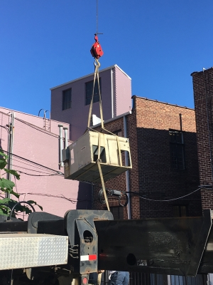Replacing roof top unit in Montclair