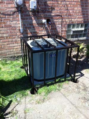 Custom Air Conditioning Cage