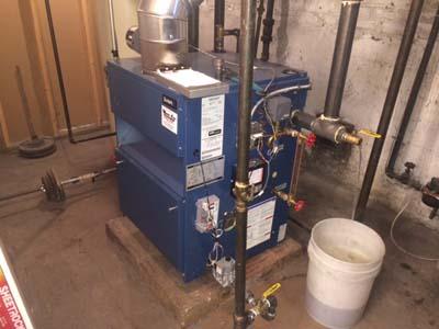 Residential Dunkirk Boiler Installation