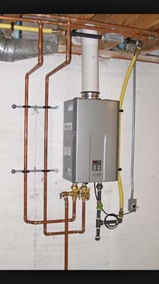 <p><b>Tankless Water Heater</b></p> <p>Fayetteville</p>