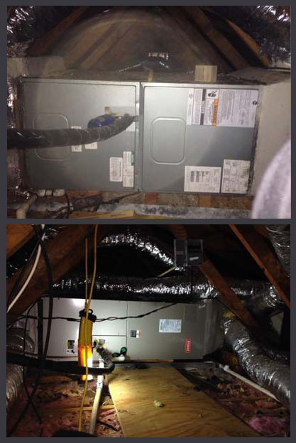 <p><b>Before and After Furnace Installation</b></p> <p>Jonesboro, GA</p>