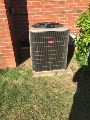 Bryant Residential Air Conditioning Installation