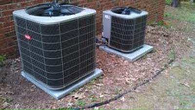 Dual Air Conditioning Unit Installation