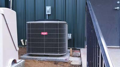 Heat Pump Installation Columbia Road Strip Mall