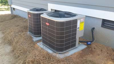 New Home Residential HVAC Installation