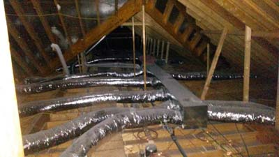 Fabrication<br />Heating & Air Ductwork