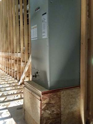 HVAC Install<br />Residential New Construction