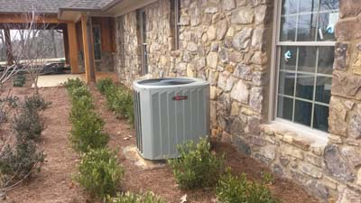 Installation<br />Residential New Construction - Trane Air Conditioning
