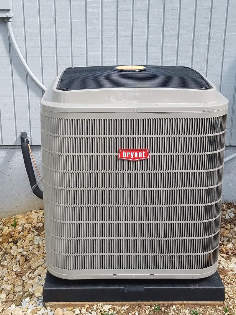A two stage 17 SEER heat pump