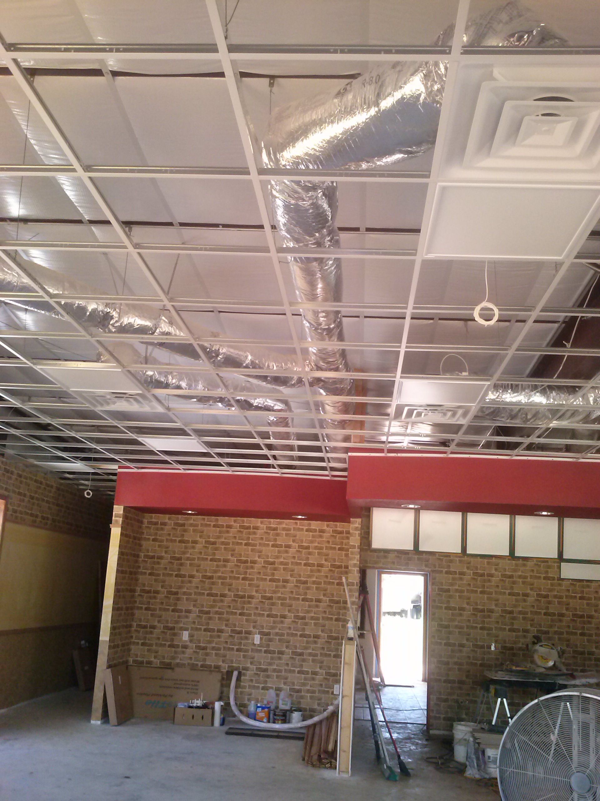 Subway Sheetmetal Duct Work