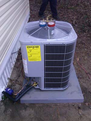 <h4>Air Conditioning Unit</h4> <p>Replacement</p>