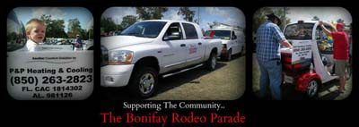 <h4>Bonifay Rodeo Parade</h4><p>Supporting our community.</p>