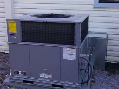 <h4>Carrier Packaged Gas Unit</h4> <p>Installation - Chipley, FL</p>