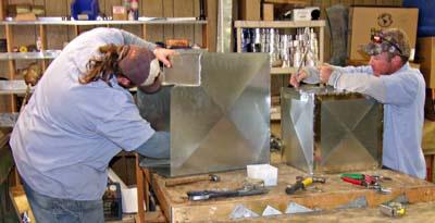 <h4>Custom HVAC Ductwork</h4>