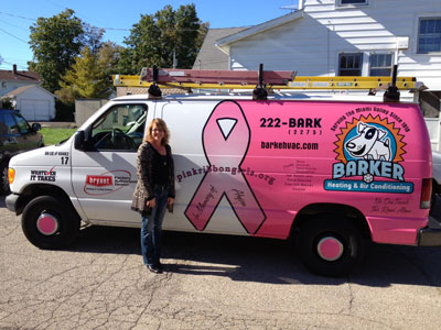 Pink Ribbon Girls Supporter