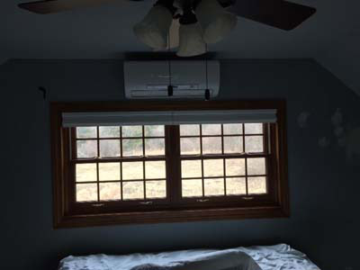 Indoor Ductless Unit Installation