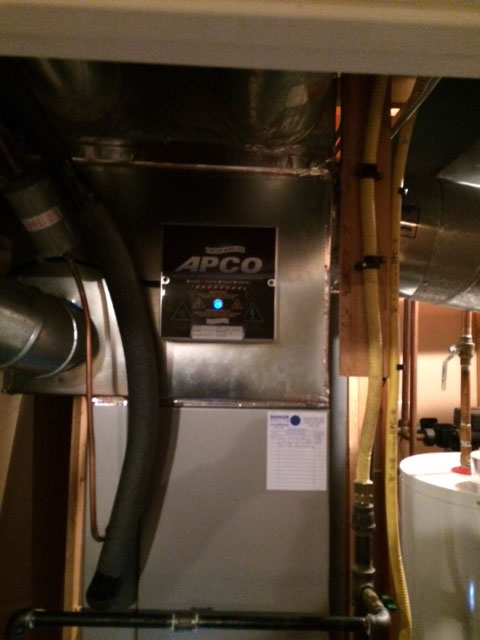 APCO Air Cleaner Installation