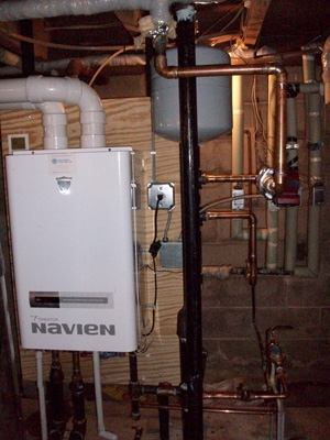 Navien Boiler<br>After