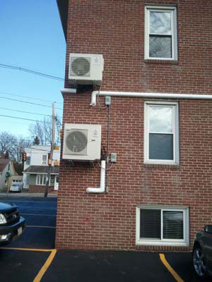 Installation<br><small>Mitsubishi Ductless Mini Split</small>