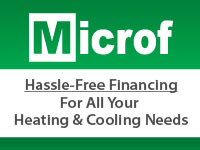 Ad for Hassle-Free Financing from Microf