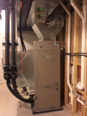 Residential Furnace Install