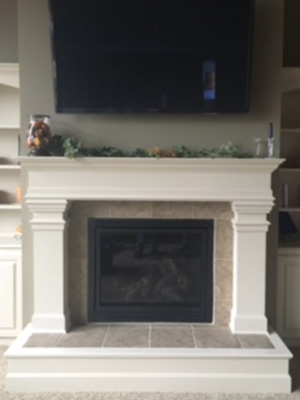 Residential Fireplace Installation
