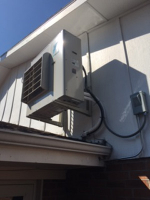 Daiken Ductless Heat Pump Outdoor Unit
